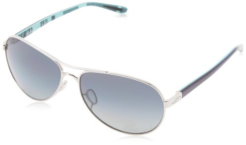Oakley Damen Feedback Aviator Sonnenbrille, Blue