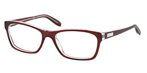Ralph Brille RA 7039 1081 in der Farbe red transparent / rot, transparent hinterlegt