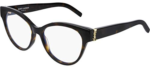 Saint Laurent Brillen SL M34 DARK HAVANA Damenbrillen