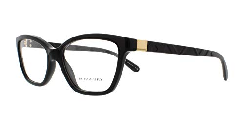 Burberry – EXPLODED CHECK BE 2221, Schmetterling, Acetat, Damenbrillen, BLACK(3001 A), 53/17/140