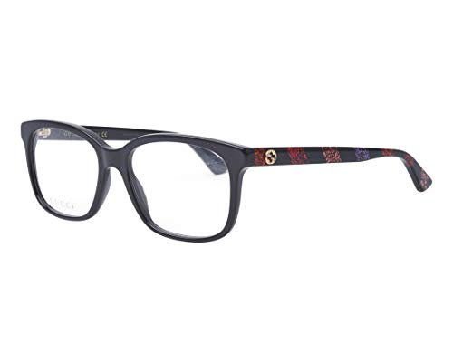 Gucci Brillen GG0330O BLACK COLORED STRIPES Damenbrillen