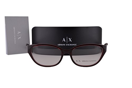 Armani Exchange AX3033 Brillen 54-16-140 Opal Burgund Mit Demonstrationsgläsern 8003 AX 3033
