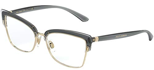 Dolce & Gabbana DOUBLE LINE DG 5045 TRANSPARENT GREY 53/16/140 Damen Brillen