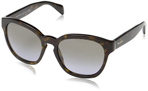Prada Damen Mod.17RS  Sonnenbrille, Havana/Lillac gradient Light  grey