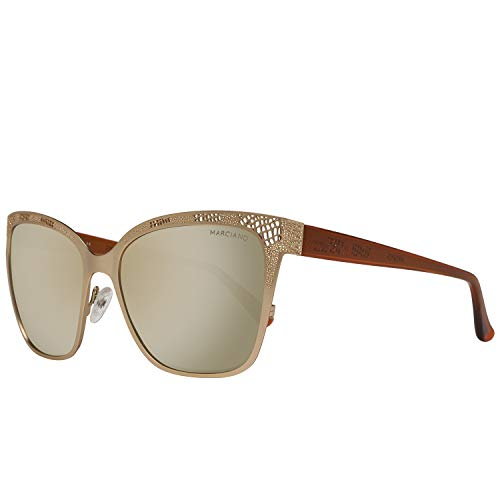 Guess GM0742 5732G Guess by Marciano Sonnenbrille GM0742 32G 57 Schmetterling Sonnenbrille 57, Beige