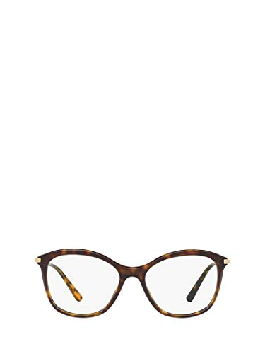Dolce e Gabbana Luxury Fashion Damen DG3299502 Braun Metall Brille | Jahreszeit Permanent