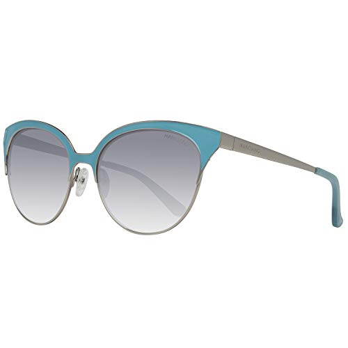 Guess GM0751 5684C Guess by Marciano Sonnenbrille GM0751 5684C Schmetterling Sonnenbrille 56, Silber