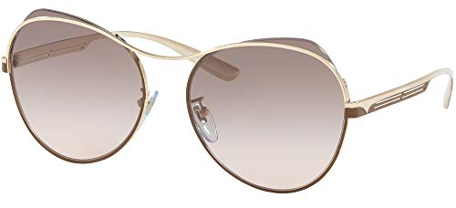 Sonnenbrillen Bvlgari BV 6120 Pale Gold/Grey Shaded Damenbrillen