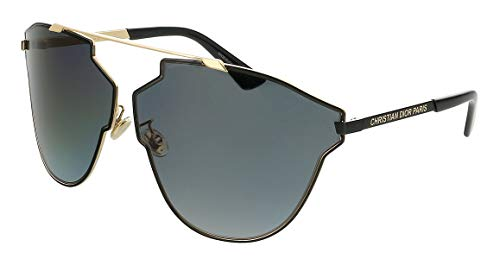 Dior Sonnenbrillen REAL Fast Gold Black/Grey Shaded Damenbrillen